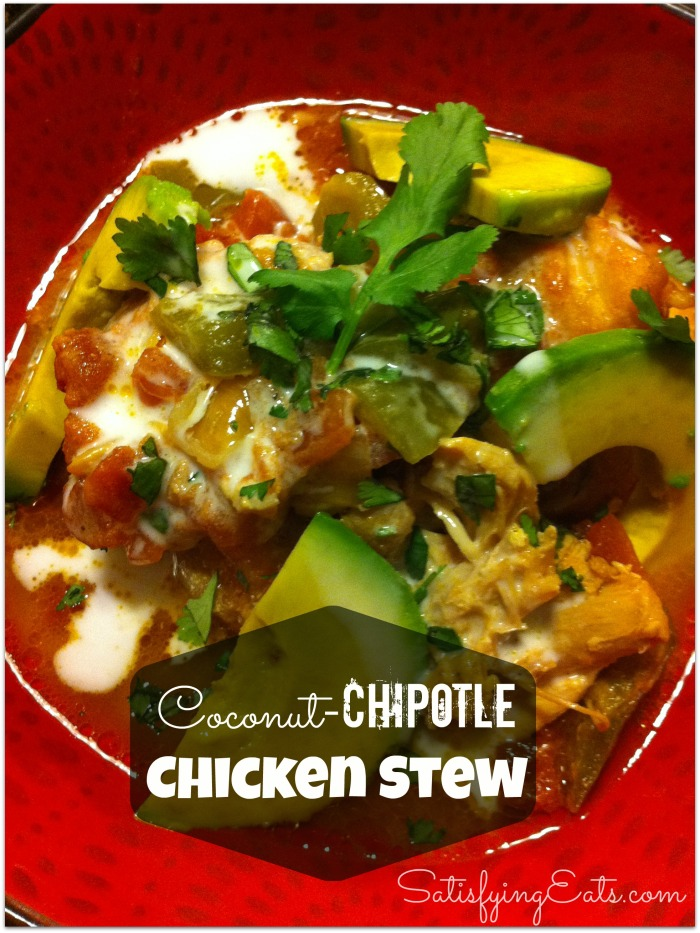 coconut-chipotle chicken stew