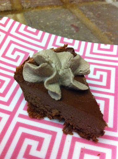 Sugar Free Chocolate Cheesecake with Chocolate Cream Cheese Frosting