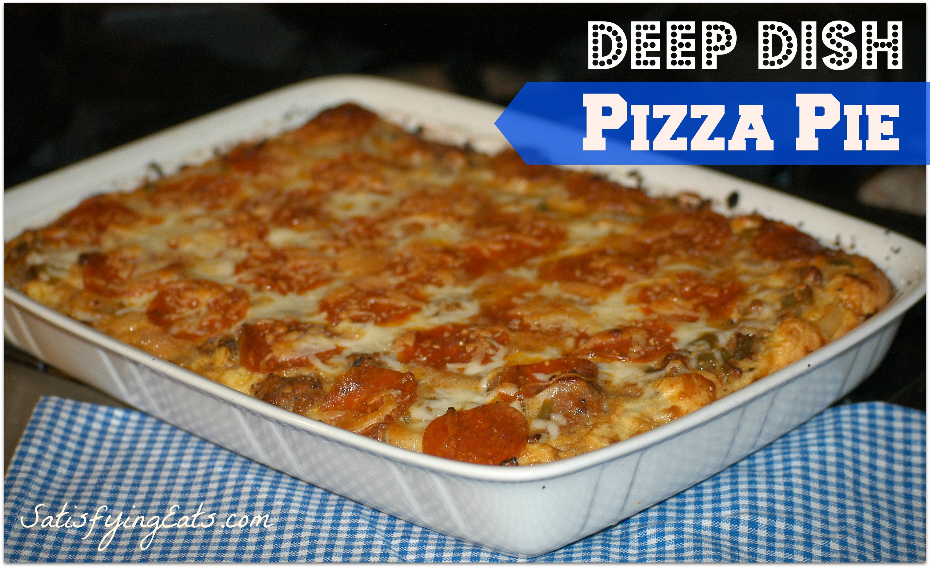 Easy chicken pizza casserole recipe