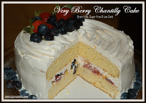 Very Berry Chantilly Cake Recipe