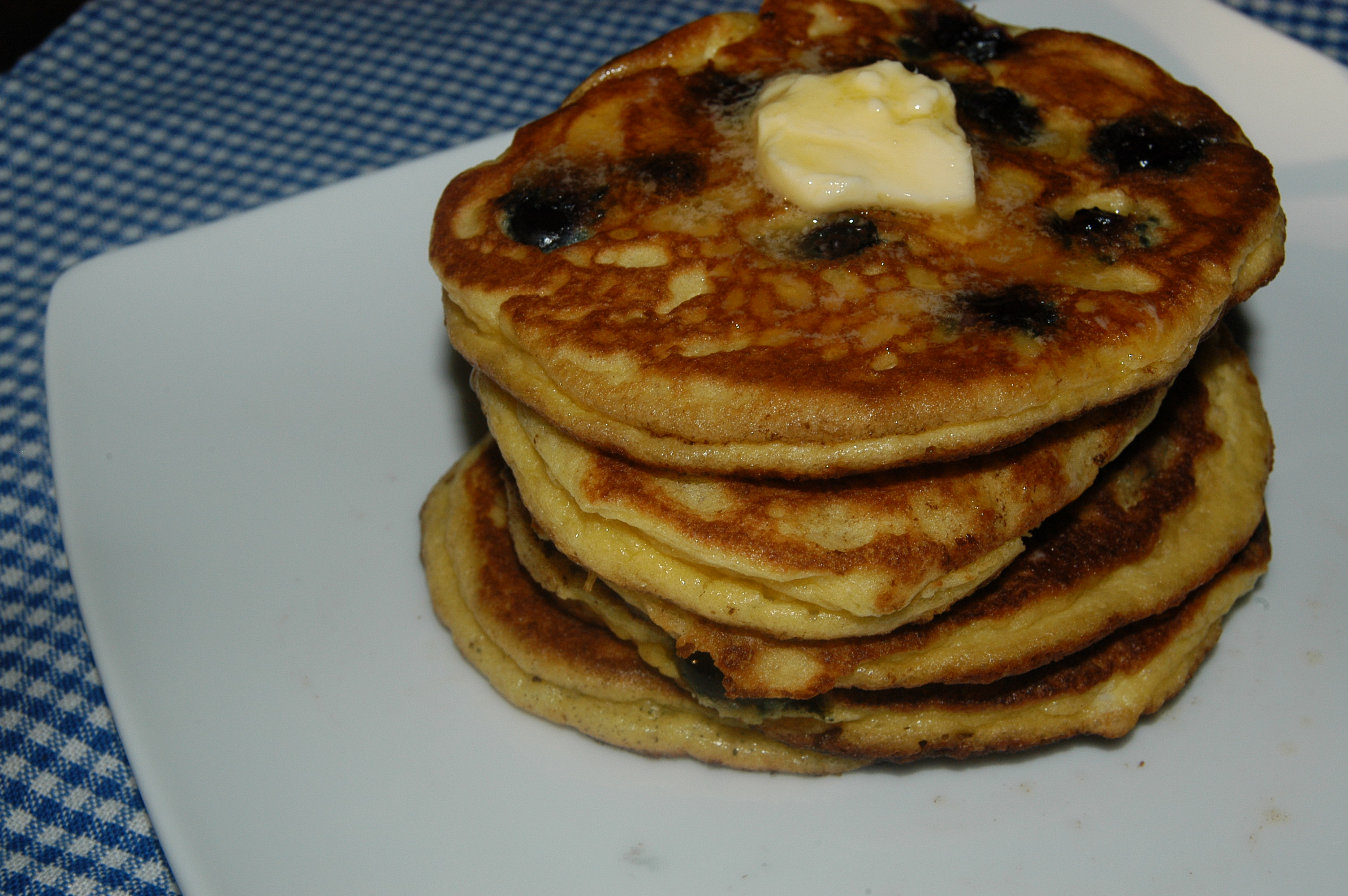 Fluffy Blueberry & Buttermilk Pancakes or Waffles (Grain-Free & Low ...