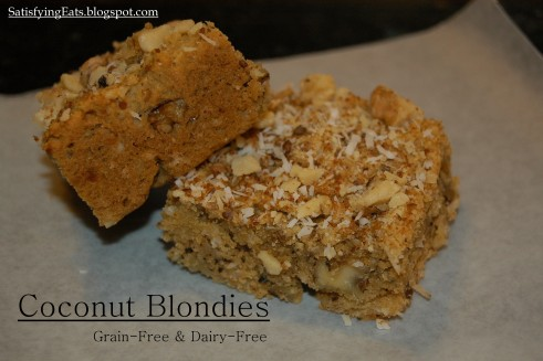 Coconut Blondies