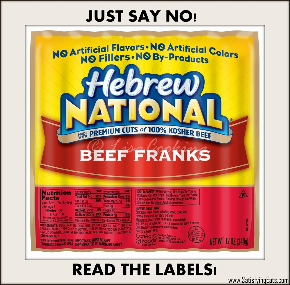 Are Hebrew National All Beef Hot Dogs Gluten Free