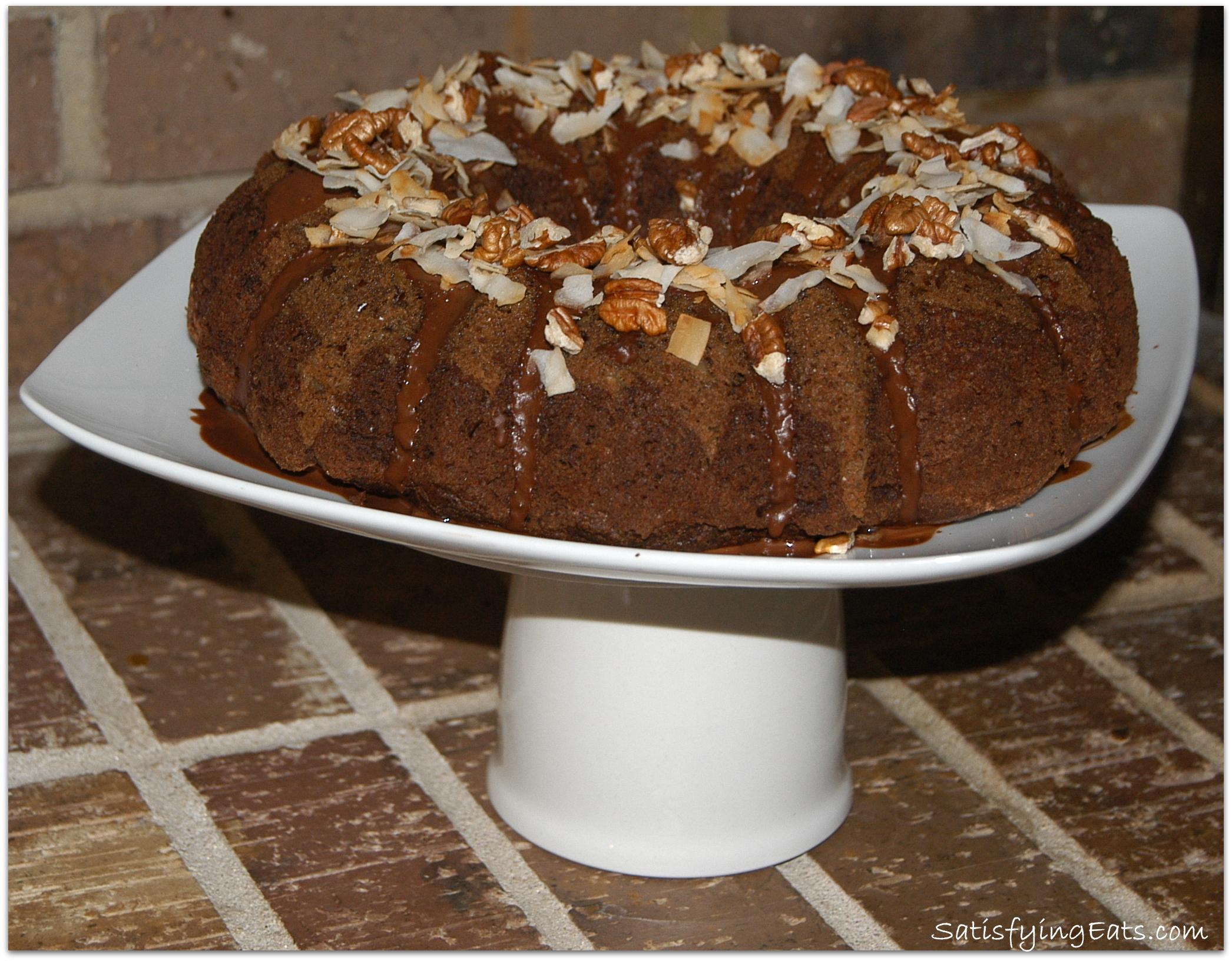 German Chocolate Cake (Grain-Free)