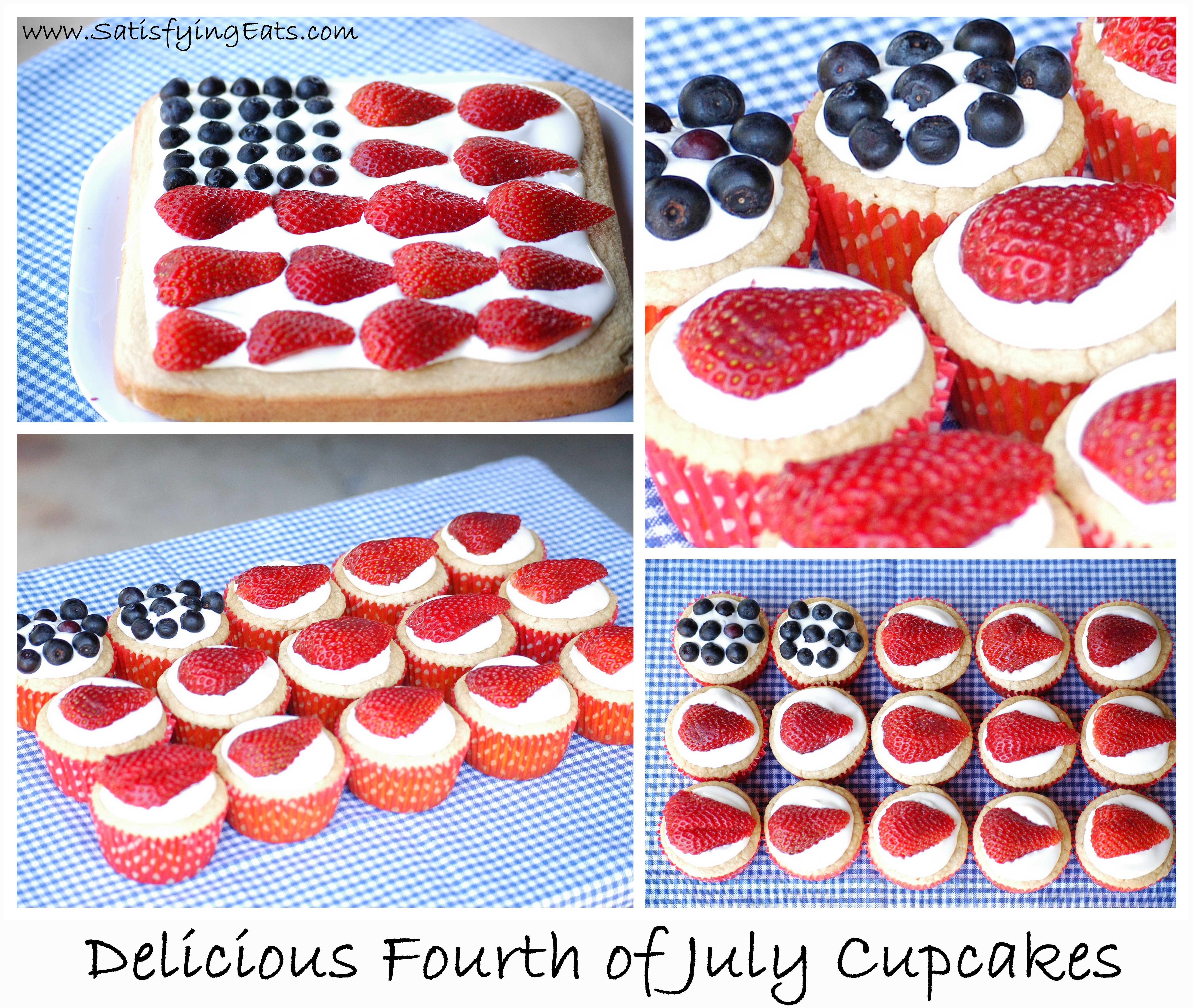 Fourth Of July Cupcakes (The BEST Cupcakes EVER