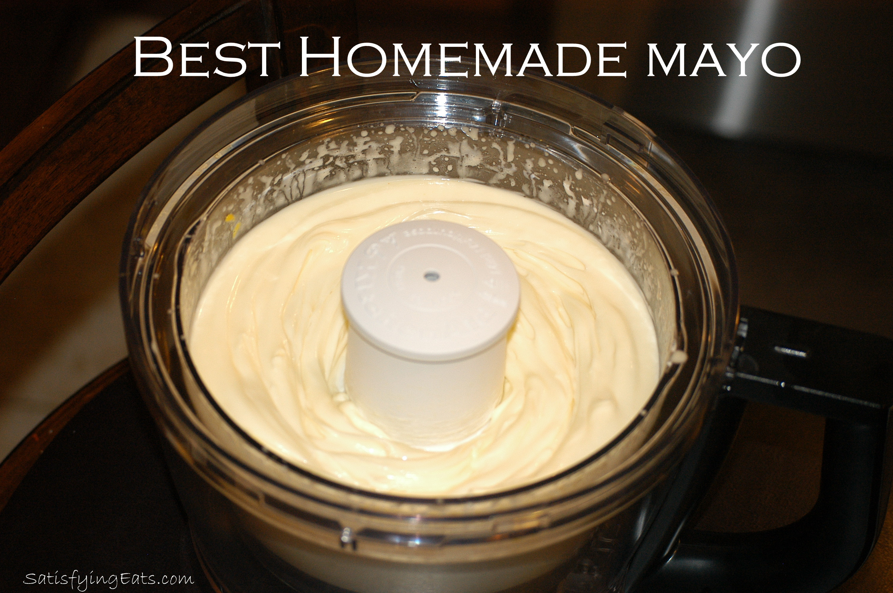 Best homemade mayo - Make best mayonnaise ...
