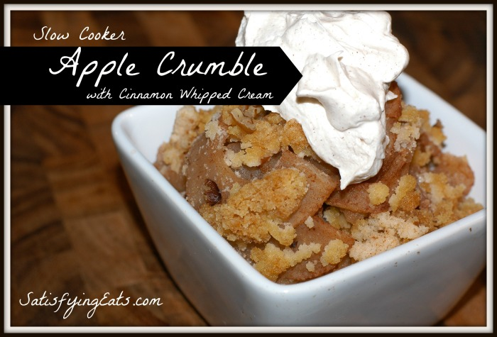 Apple Crumble