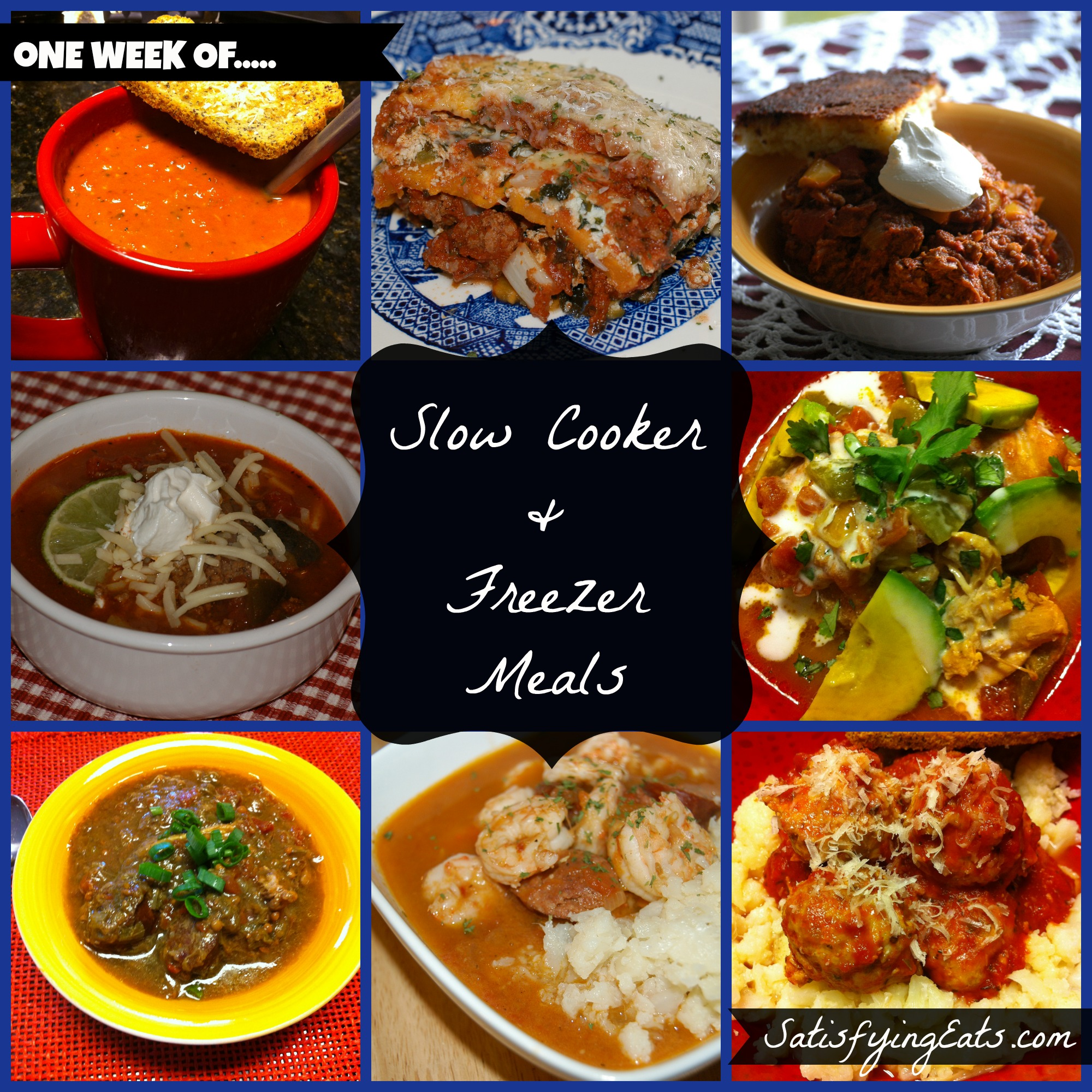 40 Fall Slow Cooker Recipes: 40 Slow Cooker & Freezer Meals