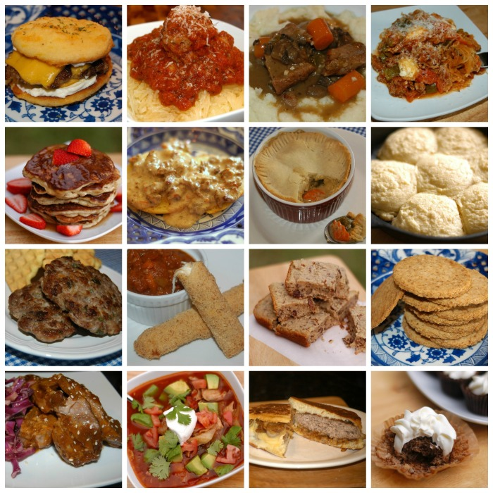 comforting eats collage